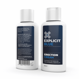 Explicit Blue erectie creme (85 ml)