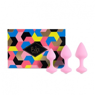 FeelzToys - Bibi Butt Plug Set 3st (Roze)