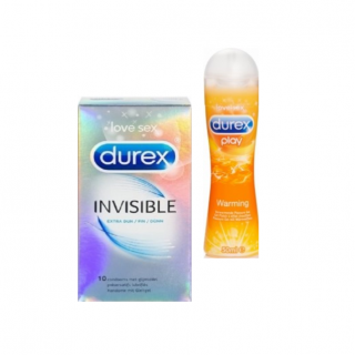 Invisible Warming (Invisible extra dun- Warming gel)