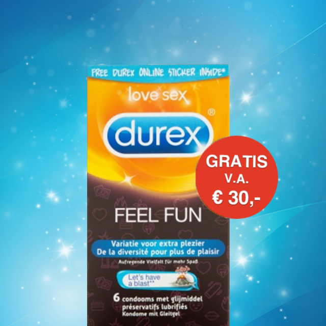 GRATIS Durex Feel Fun condooms